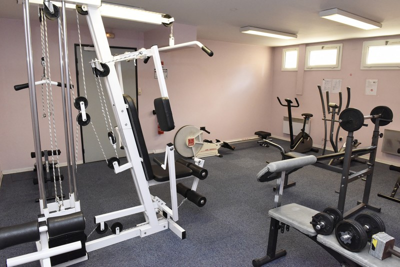 7-Salle de fitness résidence Pythagore Université