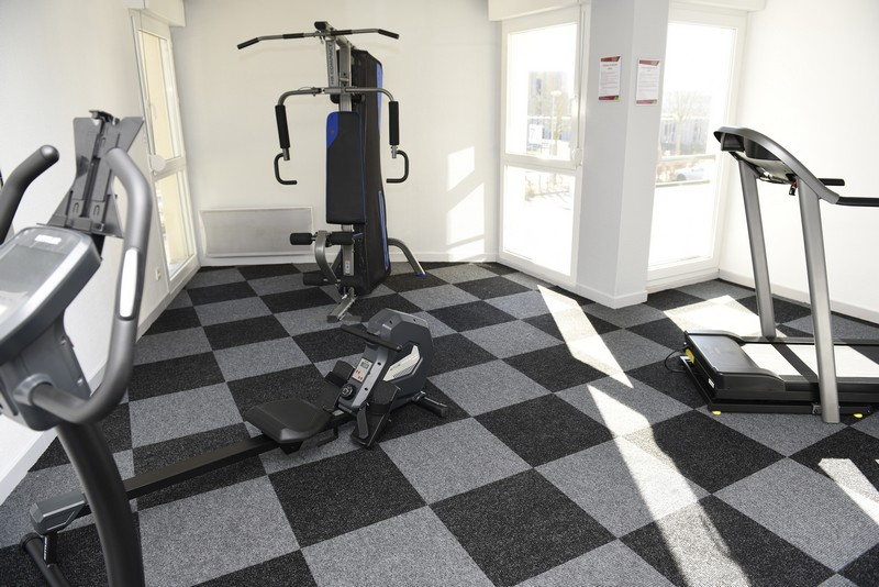 9-Salle de fitness Résidence Pythagore Queuleu